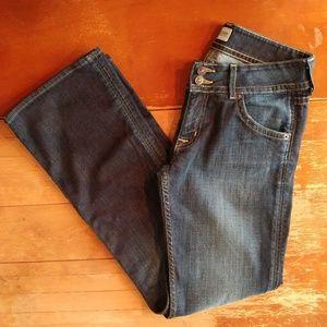 Hudson Signature Bootcut Midrise Jeans Dark Wash